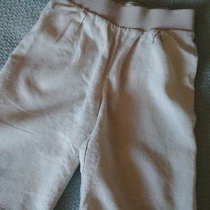 Toddler Linen cropped pants
